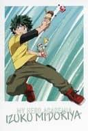 Izuku Midoriya Postcard 「 MY HERO ACADEMIA : The Movie World Heroes Mission Release Memorial Fair in Animate 」 Target Product Purchase benefits