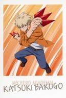 爆豪 Katsumi Postcard 「 MY HERO ACADEMIA : The Movie World Heroes Mission Release Memorial Fair in Animate 」 Target Product Purchase benefits