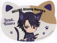 Blood Beams Original Cat Shaped Card (Deformed) 「 Elios Rising Heroes in Namja town ~ Cat Hero's Mission! ~ 」 Target Product Purchase benefits