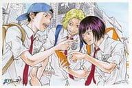 Taketo MUKO & Ryo Shishido & Jirō Akutagawa Endroll, Novel, Original Postcard, 「 Film Ryoma! The Prince of Tennis, New Movie THE PRINCE OF TENNIS, 」, 1 st Week Special Offer for Visitors