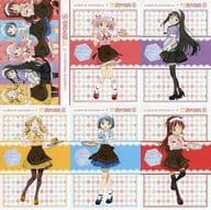 Assorted Postcards Set (6 Sheets) 「 SWEETS PARADISE× PUELLA MAGI MADOKA MAGICA 10 th ANNIVERSARY 」