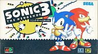 Sonic · The Hedgehog 3 [Sonic History Video] (not for sale)