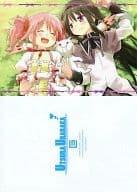 [PUELLA MAGI MADOKA MAGICA] B5 Shitajiki Madoka Kaname & Akatsuki Mihomura & Kyubey (Eretto) COMIC1 ☆ 5 / Utsura Urayasu