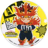 "Endeavor Coaster ""My Hero Academia x animatecafe"" Menu Order Bonus"