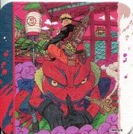 """Naruto & Garabubun """"NARUTO-Naruto-Art Coaster"""" Launch 50th Anniversary Weekly Shonen Jump Exhibition VOL. 3 Goods"""