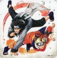 "Naruto & Kiba ""NARUTO-Art Coaster"" Launch 50th Anniversary Weekly Shonen Jump Exhibition VOL. 3 Goods"