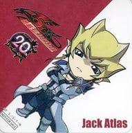 "Jack Atlas Original Coaster ""Yu-Gi-Oh! × Anime Plaza Akihabara Store Yu-Gi-Oh! Cafe"" Menu Order Bonus"