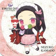 "Kamamon Mameko (Deformed) Coaster ""Devil Blade x SWEETS PARADISE"" Menu Order Bonus"