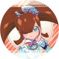 Daia (Brown / Iso-Flesh) Coaster 「 Pretty Series 10 th Anniversary x Prism Stone Cafe 6 th edition Daia in Idol time PriPara 」 drink order privilege