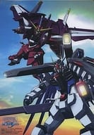 Justice & Freedom Shitajiki 「 MOBILE SUIT GUNDAM SEED 」 Monthly Gundam Ace, November 2003, Special Appendix