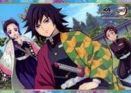 Kamado Sumijiro & Fuoka Yoshitake & Kocho Shinobu Shitajiki 「 Muzoe Kurazushi x Demon Slayer: Kimetsu no Yaiba 2021 」 Present Campaign Special Edition 1