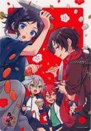Gathering (Arata Aki Illustration) B5 Shitajiki 「 Touken Ranbu -ONLINE - 」 Monthly Comic GENE September 2021 Appendix