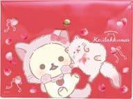 A. Co Rilakkuma and Strawberry Cat Theme Clear Case A5 「 Rilakkuma 」