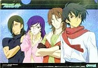 MOBILE SUIT GUNDAM 00 Clear File Monthly Gundam Ace December 2007 Supplement
