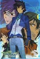MOBILE SUIT GUNDAM 00 (Double O) Clear File Gundam Ace November 2010 Appendix 1