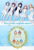 F-1. ONE PIECE & Soul Gem (Blue) A4 Clear File Set 「 Ani KUJI PUELLA MAGI MADOKA MAGICA 」 F Award