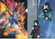 Strike & Aegis / Kira & Aslan A4 Clear File 「 MOBILE SUIT GUNDAM SEED 」