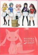 まどか☆マギカショップメインビジュアル A4クリアファイル 「魔法少女まどか☆マギカショップ」 イベント記念商品