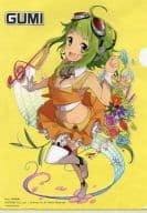 GUMI Asami Hagiwara Illustration A4 Clear File C84 Celsys Product Purchase benefits