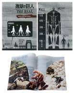Flying Clear File (A4 Size) 「 Attack on Titan The Real 」 Universal Studios Japan Only