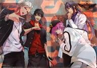 集合 A4Wポケットクリアファイル 「ヒプノシスマイク -Division Rap Battle-」 アニメージュ 2019年4月号付録