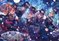 Roselia A5クリアファイル 「BanG Dream! ガールズバンドパーティ!×少女☆歌劇 レヴュースタァライト -Re LIVE-×ファミリーマート 第2弾」 対象商品購入特典