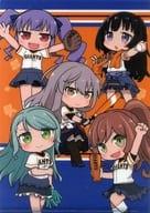 Roselia クリアファイル 「BanG Dream!×読売ジャイアンツ」