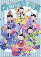 Collection (Balloon Birthday Version) A4 clear file drawing illustration 「 Osomatsu 」