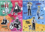Set A4 clear file set (2-sheet set) 「 Tokyo Rivanger's Sanrio Character Karters in THE Character SHOP 」