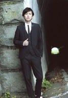 Ryo Hirano / Whole Body / Costume Black / White / Right Hand Jacket / Left Hand Pocket / 「 Ryo Hirano 2016 Calendar Launch Commemorative Event 」 Official photo