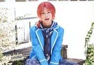 Shouhei Hashimoto (Leo Tsukinaga) / Horizontal / Knee-High / Sitting / Uniform / Character Kutshot / 「 『 Ensemble Stars! On Stage 』 Anste Festival 」 Trading Bromide B
