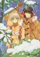 No.104:桃屋和雪人