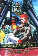 S1-10-244: Gundam and Matilda Ajan