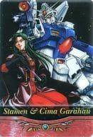S1-18-252: Gundam GP03S & Cima Garahau