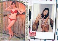 087 : 杉本有美/金色箔押しカード/BOMB CARD LIMITED 杉本有美 トレーディングカード