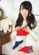 #47 : Nana Mizuki / Rare Card (Parallel Specification) / 「 S. C. NANA NET Fan Club Event VIII 」 NANA'S MAGAZINE TRADING CARD