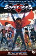 Super Sons: Planet of the Capes(纸背景 )(2)