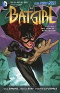Batgirl: The Darkest Reflection(The New 52)(纸背景 )(1)