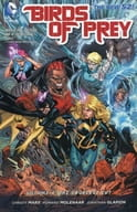 Birds of Prey: The Cruelest Cut(The New 52)(纸背景 )(4)