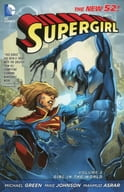 Supergirl: Girl in the World(The New 52)(纸背景 )(2)