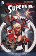 Supergirl: Red Daughter of Krypton(The New 52)(纸背景 )(5)