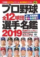 職業棒球全體 12 球團選手人名簿 2019